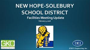 Facilities Meeting Update