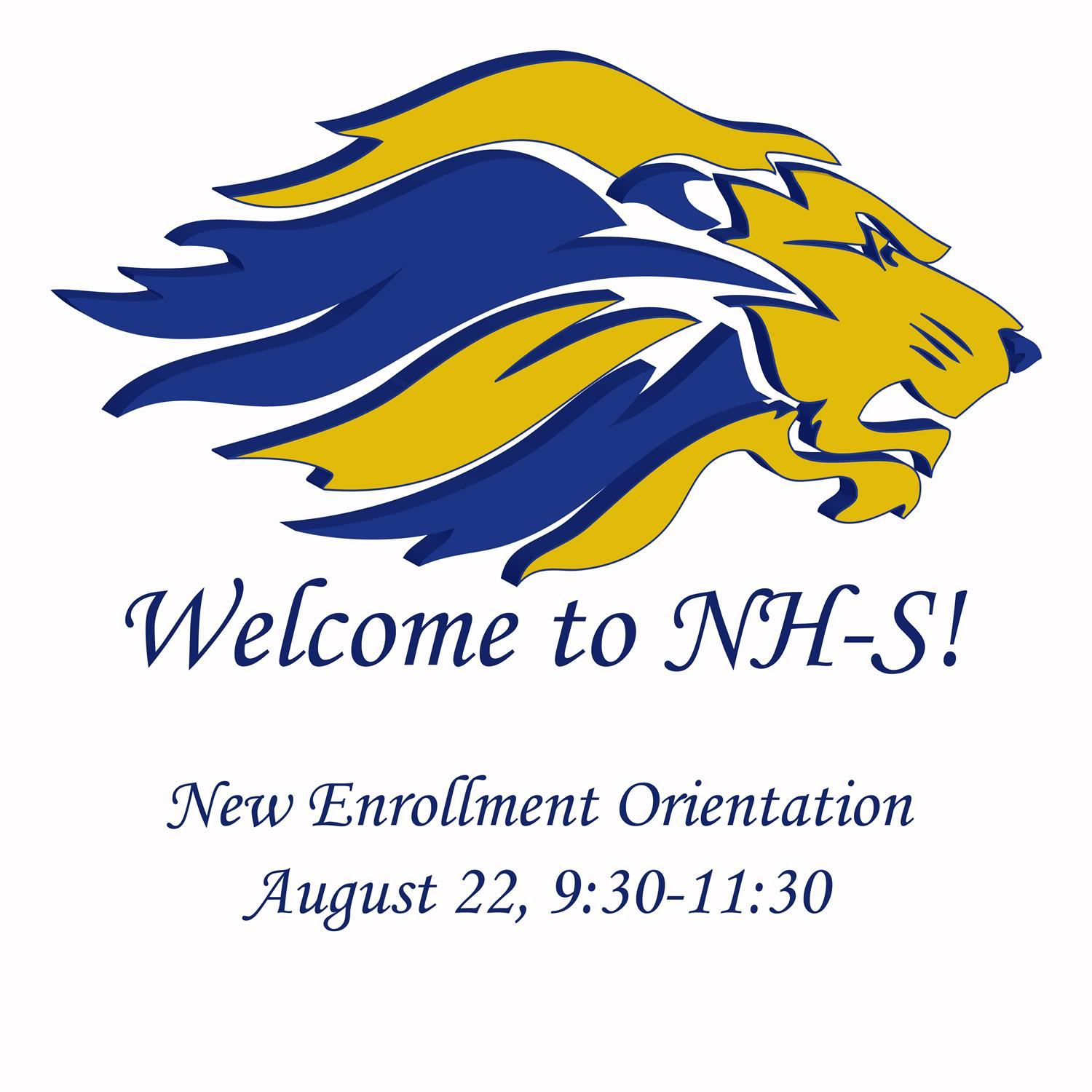 2019-20 New Enrollment Orientation